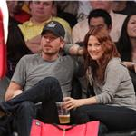 Drew Barrymore PDA Will Kopelman courtside at Laker game 83542