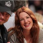 Drew Barrymore PDA Will Kopelman courtside at Laker game 83544