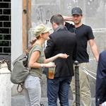 Drew Barrymore in Rome with boyfriend Will Kopelman  96785