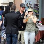 Drew Barrymore in Rome with boyfriend Will Kopelman  96787