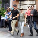 Drew Barrymore in Rome with boyfriend Will Kopelman  96788
