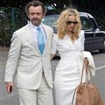 Rachel McAdams and Michael Sheen at Wimbeldon 120121