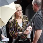 Drew Barrymore shoots Going the Distance in New York 43765