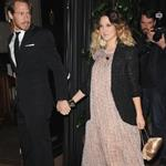 Drew Barrymore and Will Kopelman arrive at the Chanel & Charles Finch Pre-Oscar Dinner, February 2011 101794