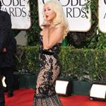 Christina Aguilera at the Golden Globes January 2011 77212