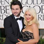 Christina Aguilera at the Golden Globes January 2011 77214