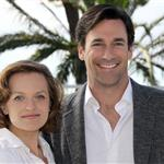 Elisabeth Moss and Jon Hamm in Cannes last week 70540