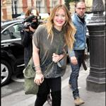 Hilary Duff continues to promote Elixir in Paris at NRJ TV  78320