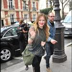 Hilary Duff continues to promote Elixir in Paris at NRJ TV  78321