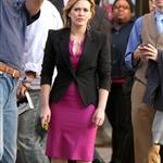 Hilary Duff on the set of Business of Falling In Love in NY 49106