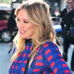 Hilary Duff on the set of Business of Falling In Love in NY 49110