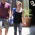 Hilary Duff and Mike Comrie work out with Harley Pasternak 63835
