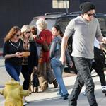 Rumoured new couple Kirsten Dunst and Garrett Hedlund out for lunch 101565