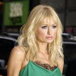Paris Hilton tries to infect Usain Bolt with her Ebola virus at Letterman 25293