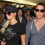 Ebola Paris Hilton and boyfriend arrive in Brazil for Sao Paolo Fashion Week January 2011 77723