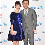 Ed Westwick in London at the Chalet Girl premiere with Felicity Jones 78478