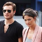 Ed Westwick out and about with Jessica last week 40662