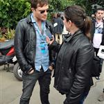 Ed Westwick in Melbourne for F1 Qantas Australian Grand Prix 82074