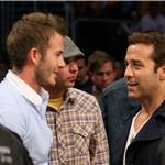 David Beckham, Zac Efron and Jeremy Piven at the Lakers game 5 vs Suns playoffs 2010 62136