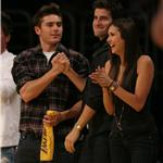 David Beckham, Zac Efron and Jeremy Piven at the Lakers game 5 vs Suns playoffs 2010 62141