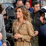 Elisabetta Canalis shoots a commercial in Rome  82279