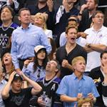 Ellen Page and Alexander Skarsgard attend game four of the 2012 Stanley Cup Final between the Los Angeles Kings and the New Jersey Devils at Staples Center 116746