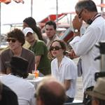 Jesse Eisenberg and Ellen Page on set of The Bop Decameron in Italy 90801