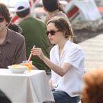 Jesse Eisenberg and Ellen Page on set of The Bop Decameron in Italy 90803