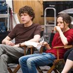 Jesse Eisenberg and Ellen Page on set of The Bop Decameron in Italy 90813