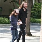 Ellen Page with a male companion arriving at the Staples Center for game six LA Kings vs. New Jersey Devils for the Stanley Cup Finals 117352