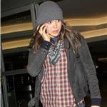 Ellen Page arrives at LAX 81385