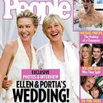 Ellen Degeneres and Portia de Rossi wedding photos in People Magazine 23766
