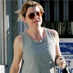 Ellen Pompeo leaves the gym  101792