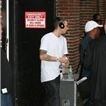 Eminem leaving The Late Show  63818
