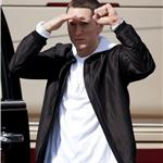 Eminem shoots a new music video in LA 77542