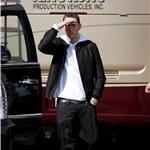 Eminem shoots a new music video in LA 77545
