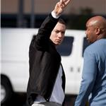 Eminem shoots a new music video in LA 77549