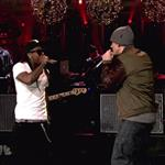 Eminem performs with Lil Wayne on Saturday Night Live 75294