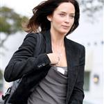 Emily Blunt leaves hair salon 59340