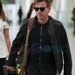 Emily Blunt and Ewan McGregor arrive in Toronto.  Photos from PUNKD Images 93801