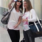 Emily Blunt and Ewan McGregor arrive in Toronto.  Photos from PUNKD Images 93803