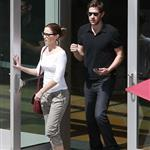 Emily Blunt and John Krasinski leave the movies in Los Angeles 120275