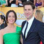 Emily Blunt and John Krasinski at the 2012 SAG Awards 104289