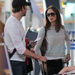 Emily Blunt John Krasinski depart YVR after spending the weekend in Vancouver 91816