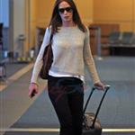 Emily Blunt John Krasinski depart YVR after spending the weekend in Vancouver 91817