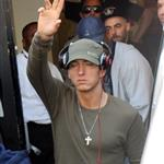 Eminem in London promoting Recovery 62565