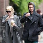 Emma Stone and Andrew Garfield out in New York 113332
