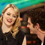 Emma Stone and Andrew Garfield appear on El Hormiguero TV show in Madrid 119897