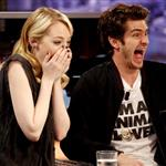 Emma Stone and Andrew Garfield appear on El Hormiguero TV show in Madrid 119899