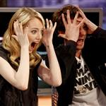 Emma Stone and Andrew Garfield appear on El Hormiguero TV show in Madrid 119900